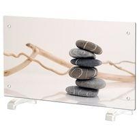 Chemin'ARTE - radiateur décoratif 2000w galets zen - ef096