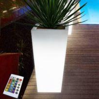 Arum Lighting - Pot lumineux rechargeable square 90cm