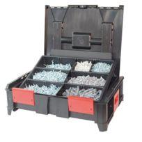 Alsafix - COFFRETS BOXONBOX avec chevilles + vis bois + 3 forets KIT00246