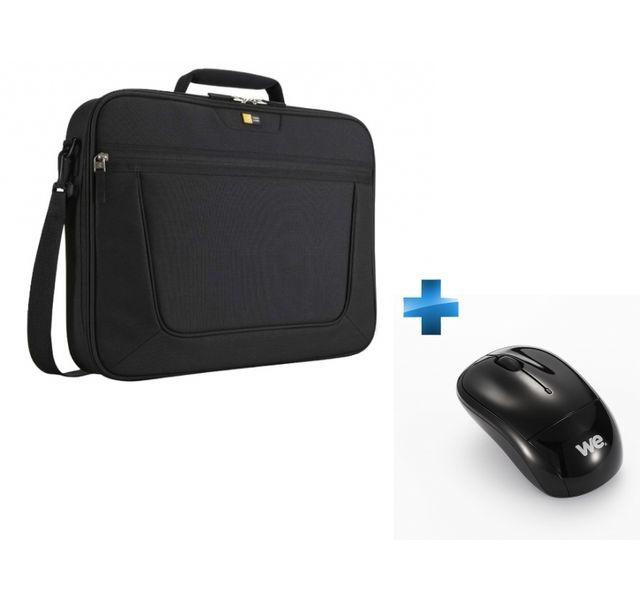 case logic pack sacoche pc portable 17 3 39 39 souris sans fil pas cher achat vente sacoche. Black Bedroom Furniture Sets. Home Design Ideas