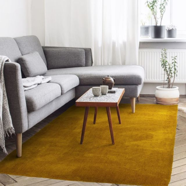 thedecofactory tapis cocoon 120x170 jaune scandinave 16. Black Bedroom Furniture Sets. Home Design Ideas