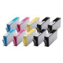 Marque Generique - Hp n°364XL Pack de 10 Cartouches compatibles