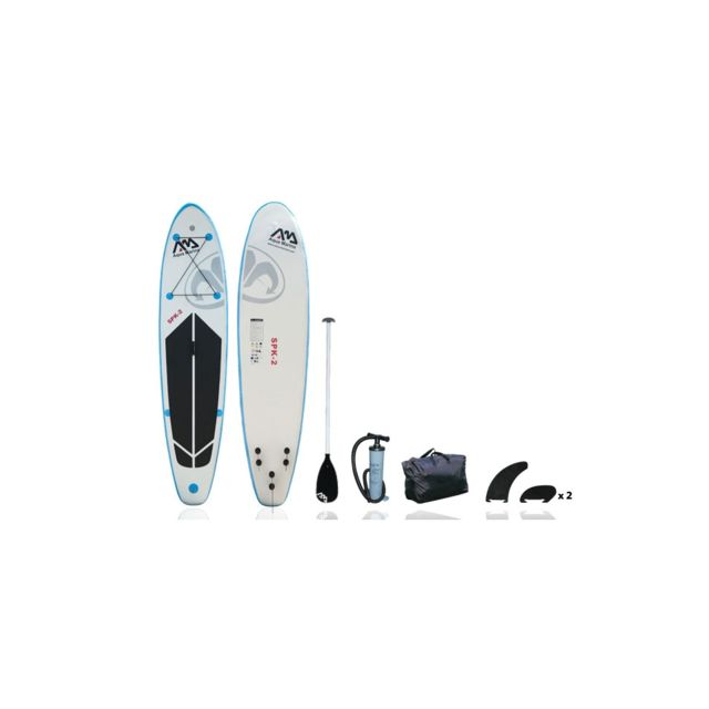 aquamarina stand up paddle gonflable 10 10 spk 2 aqua marina pas cher achat vente boards. Black Bedroom Furniture Sets. Home Design Ideas
