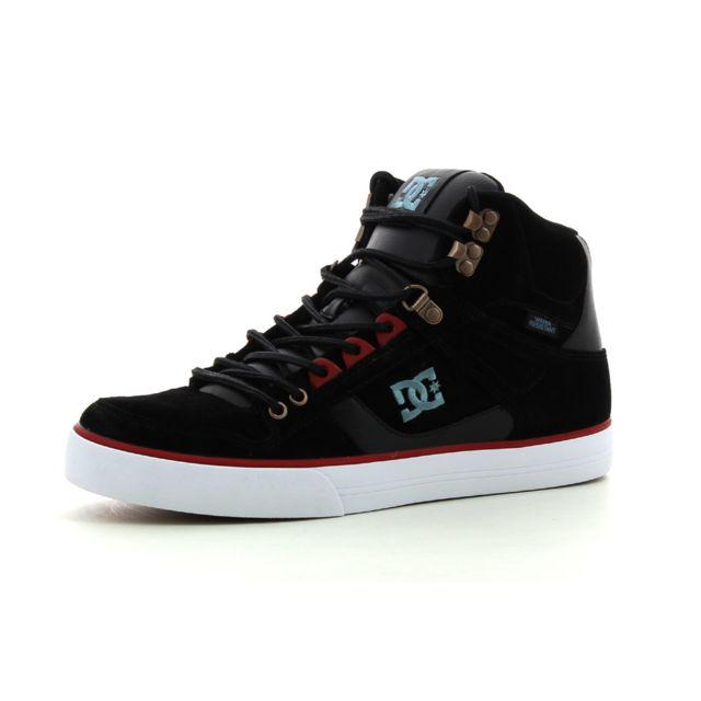 36e8cef77c86 Dc - Baskets montantes Shoes Spartan High Wc Wr Noir - pas cher Achat / Vente  Baskets homme - RueDuCommerce