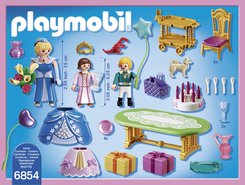 Playmobil salle manger pour anniversaire princesse for Salle a manger playmobil 5332