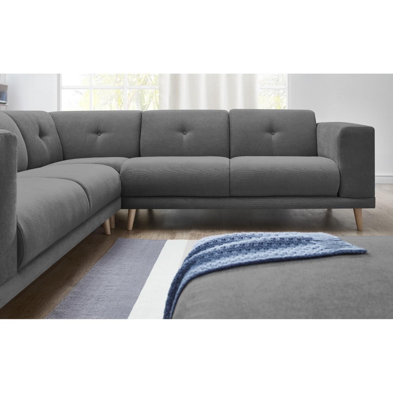 bobochic canap d 39 angle panoramique avec pouf luna gris fonc 260cm x 82cm x 260cm 246cm. Black Bedroom Furniture Sets. Home Design Ideas