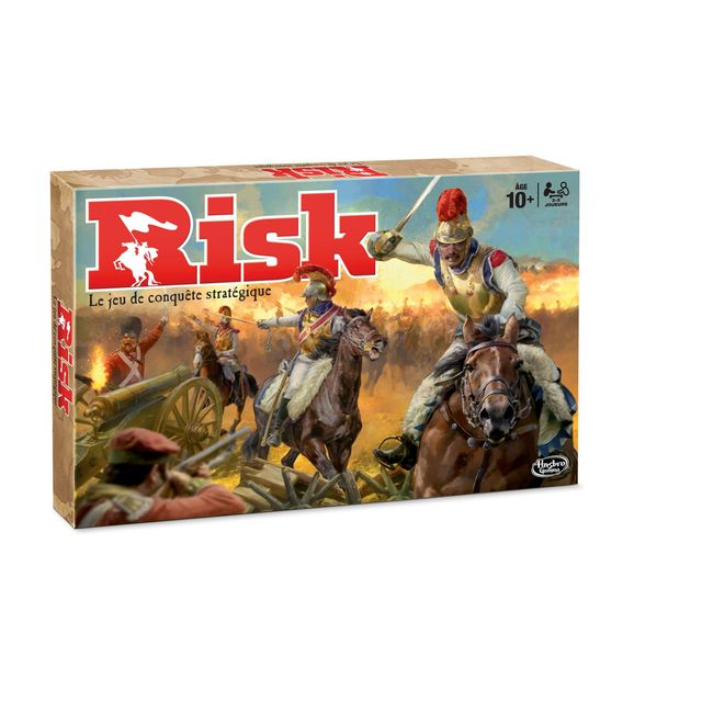 HASBRO - Jeu de société Risk - B74041010