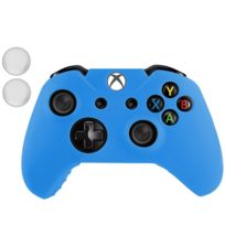 Wewoo - Pour Xbox One Joypad bleu Housse de protection en silicone avec 2 manettes de joystick