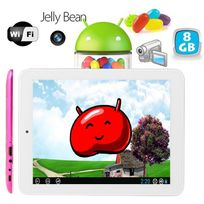 Yonis - Tablette tactile Android 8 pouces Hdmi Usb 8 Go Rose