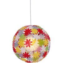 Naeve Leuchten - 7024861 Young Living Lampe À Suspendre En Plastique/MÉTAL Ampoule Non Incluse Multicolore Ø 70 Cm Longueur Du CÂB