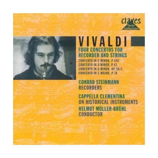 Claves - Concertos pour flûte à bec