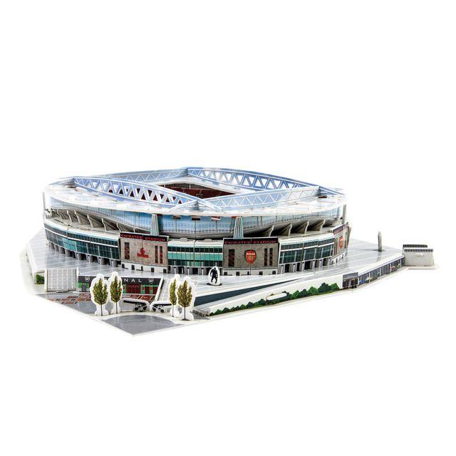 MEGABLEU Puzzle 3D 108 pièces : Stade de foot : Emirates Stadium Arsenal
