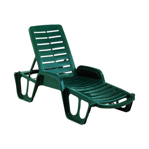 Bain de soleil empilable Fisso - vert