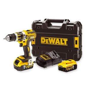 dewalt dcd795p2 perceuse percussion visseuse 18v 5ah avec 2 accus coffret pas cher achat. Black Bedroom Furniture Sets. Home Design Ideas