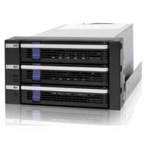 ICY DOCK - Backplane 2x5,25'' FatCage MB153SP-B pour 3 disques durs 3,5'' SATA