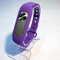 Shopinnov - Bracelet Micro espion Enregistreur 8Go Violet 20H d'enregistrement continu