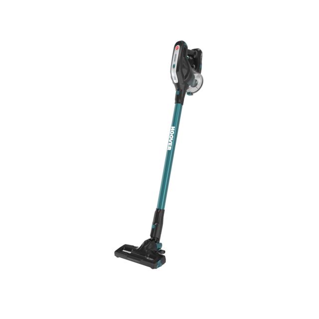 hoover aspirateur balai sans fil multi fonctions hf18car bleu meraude achat aspirateur balai. Black Bedroom Furniture Sets. Home Design Ideas