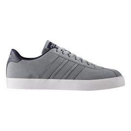 official photos 4d221 0ba4f Adidas - Chaussures neo Court Vulc gris bleu - pas cher Achat   Vente  Baskets homme - RueDuCommerce