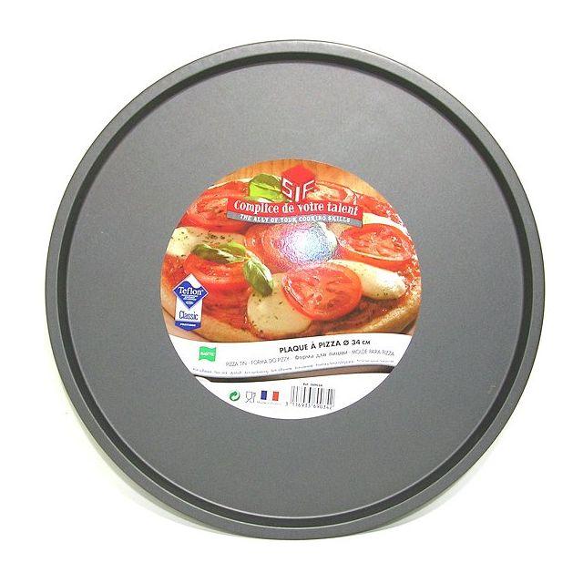 S.I.F Moule à pizza téflonée diamètre 34 cm Sweetie