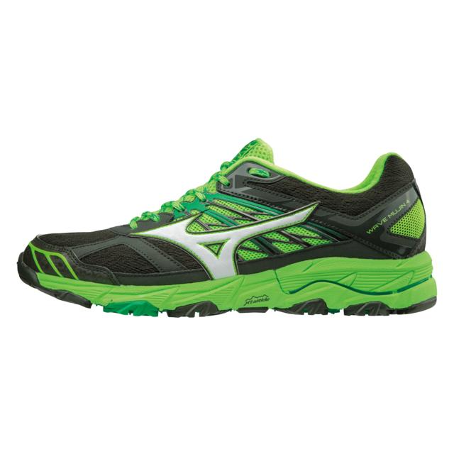 Wave Mujin 4 Verte Chaussures de Trail