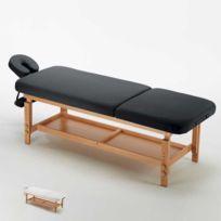 Bodyline - Healt And Massage - Table de massage fixe en bois esthétique