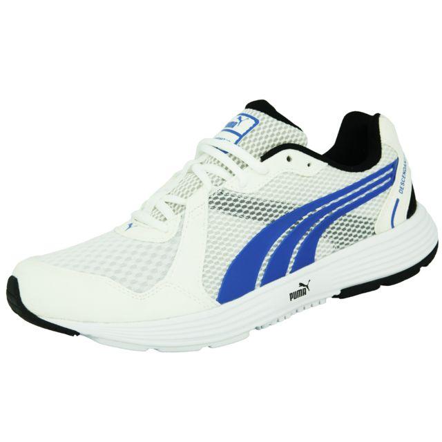 Course Running Homme Bleu Puma Descendant Chaussures V2 De Blanc tQCsdxhBr