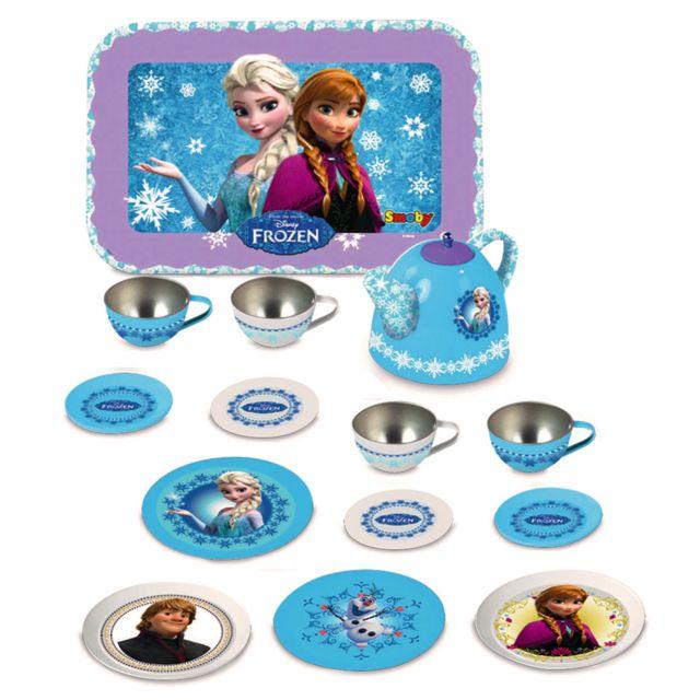 Smoby Dînette en métal La Reine des Neiges Frozen