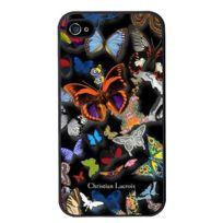 Christianlacroix - Coque Butterfly Parade de Christian Lacroix couleur Oscuro pour iPhone 4