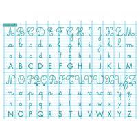 Majuscule - Rouleau tableau blanc abecedai 70x100