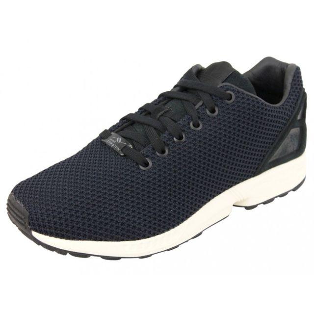 new style 39685 1e87b Adidas - ZX FLUX M BLK - Chaussures Homme Noir 36 - pas cher Achat   Vente Baskets  homme - RueDuCommerce