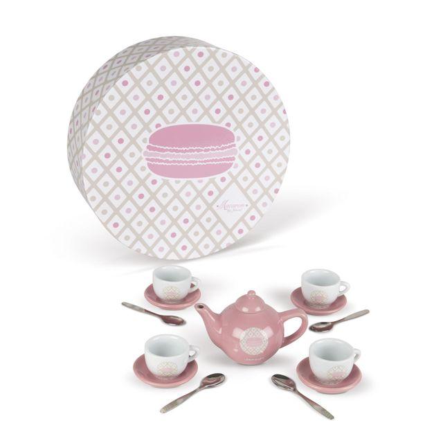 Janod Service A The En Ceramique Macaron Pas Cher Achat