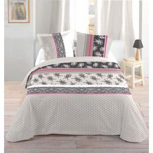 bonareva housse de couette 240 x 220 cm taies. Black Bedroom Furniture Sets. Home Design Ideas