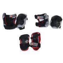 K2 - Kit protection roller skateboard Performance 3 pack protec Noir 14537
