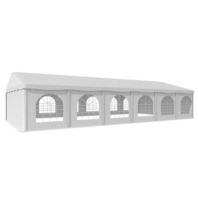 BLUMFELDT Sommerfest 6x12m 500 g/m² Chapiteau tente PVC étanche galvanisé
