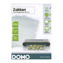 Domo - Film Plastique - 50 sacs de 28cm x 40cm pour soudeuse alimentaire Do327L