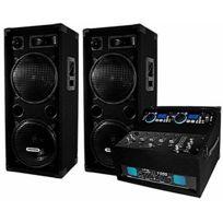 Ibiza Sound - Pack de sonorisation 1000 W avec enceintes Dj-920