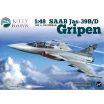 """Kitty Hawk - Maquette avion : Saab Jas-39 B/D """"GRIPEN"""