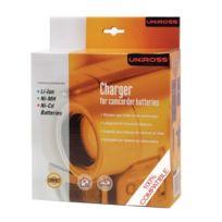Uniross - Chargeur pour batteries de caméscopes Li-Ion - Ni-MH - Ni-Cd - Ref : Pty0056