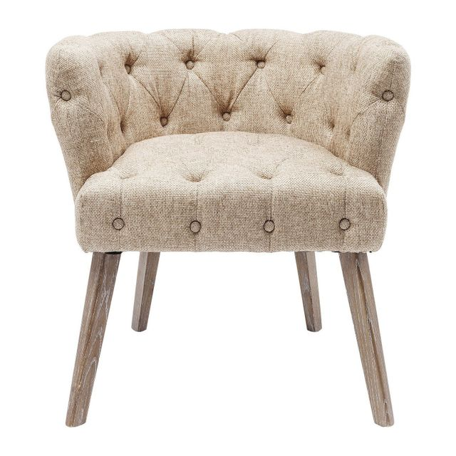 Karedesign Fauteuil Duchess nature Kare Design