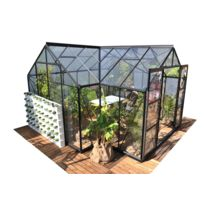 Serre de jardin en verre Sirius 13,00 m²