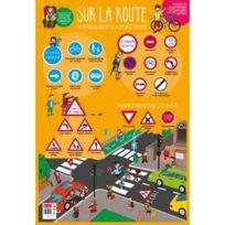 Bouchut Grandremy - poster pédagogique en pvc 76x52cm, le code de la route
