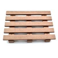 Hobby Engine - Palette Miniature bois Pour Engin de chantier echelle 1/6