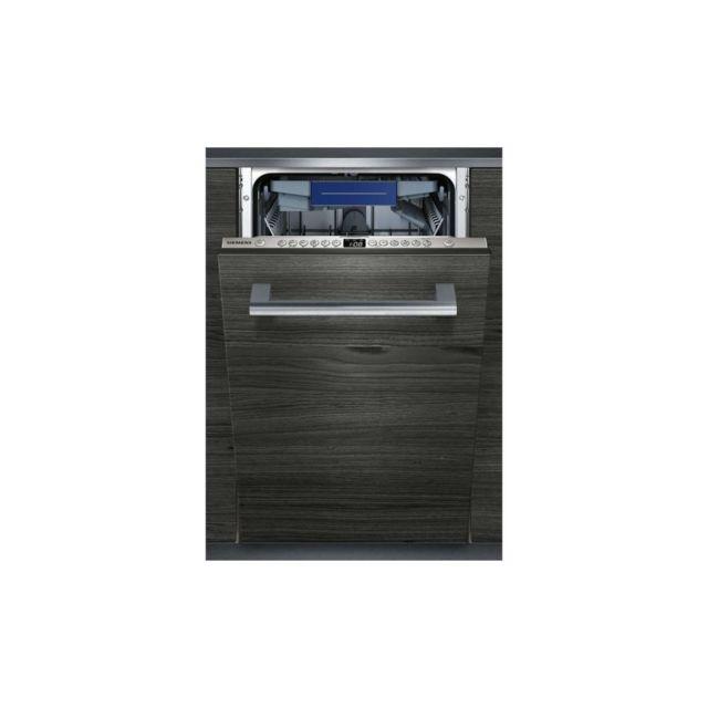 siemens sr636x00me lave vaisselle tout encastrable 10. Black Bedroom Furniture Sets. Home Design Ideas