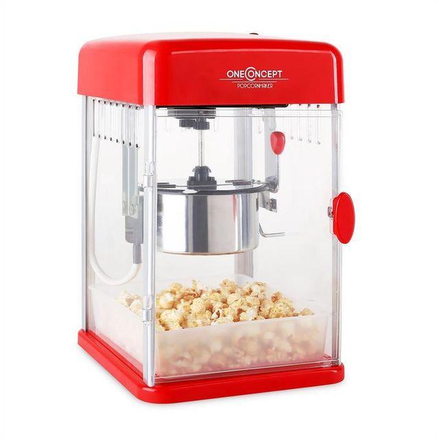 Oneconcept rockkorn popcornmaker 350w 23 5x38 5x27cm pas cher achat vente cuisson festive - Machine a pop corn carrefour ...