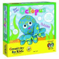 Creativity for Kids - Cfk1840 - Kit De Loisirs CrÉATIFS - Pieuvre À Coudre