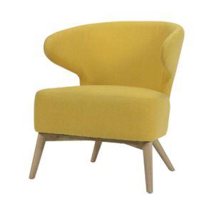fauteuil jaune pas cher achat vente fauteuils rueducommerce. Black Bedroom Furniture Sets. Home Design Ideas