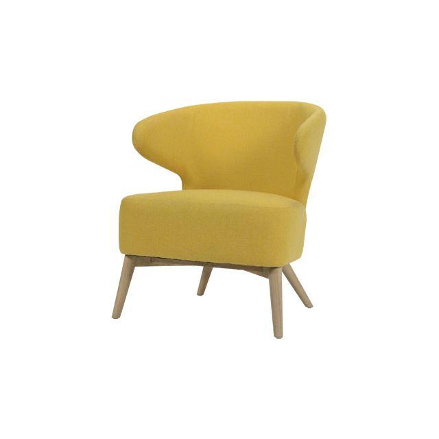 Fauteuil - jaune