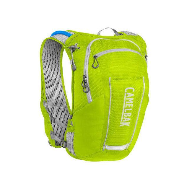Camelbak Gilet d'hydratation Ultra 10 Vest de 8litres + réservoir Crux de 2 litres vert citron