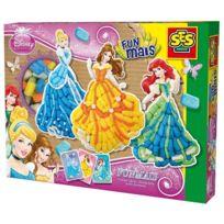 Ses - 24991 - Kit de Loisir Créatif - Eco Funmais - Disney Princess