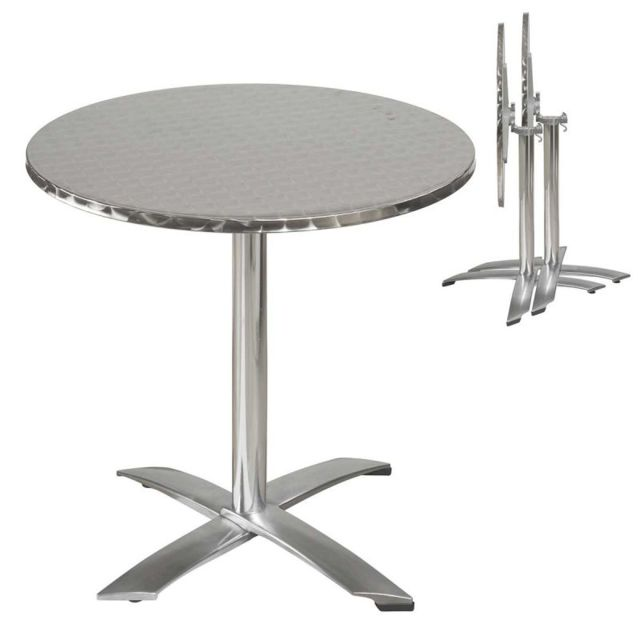 Tables Table de bistrot en aluminium Jardin